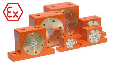 Vibrateur pneumatique à rouleau atex série DAR EX