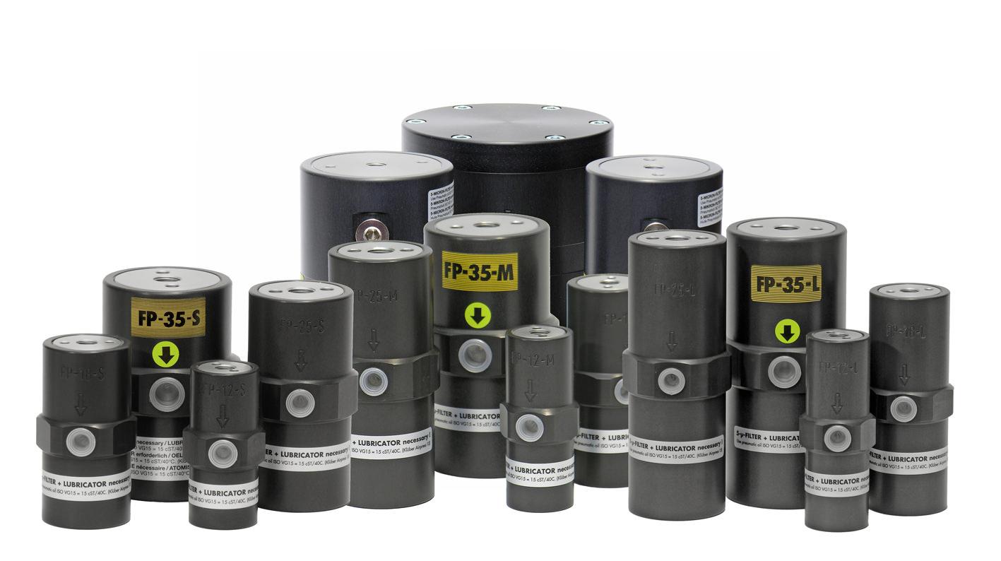 Vibrateur pneumatique à piston interne série FP