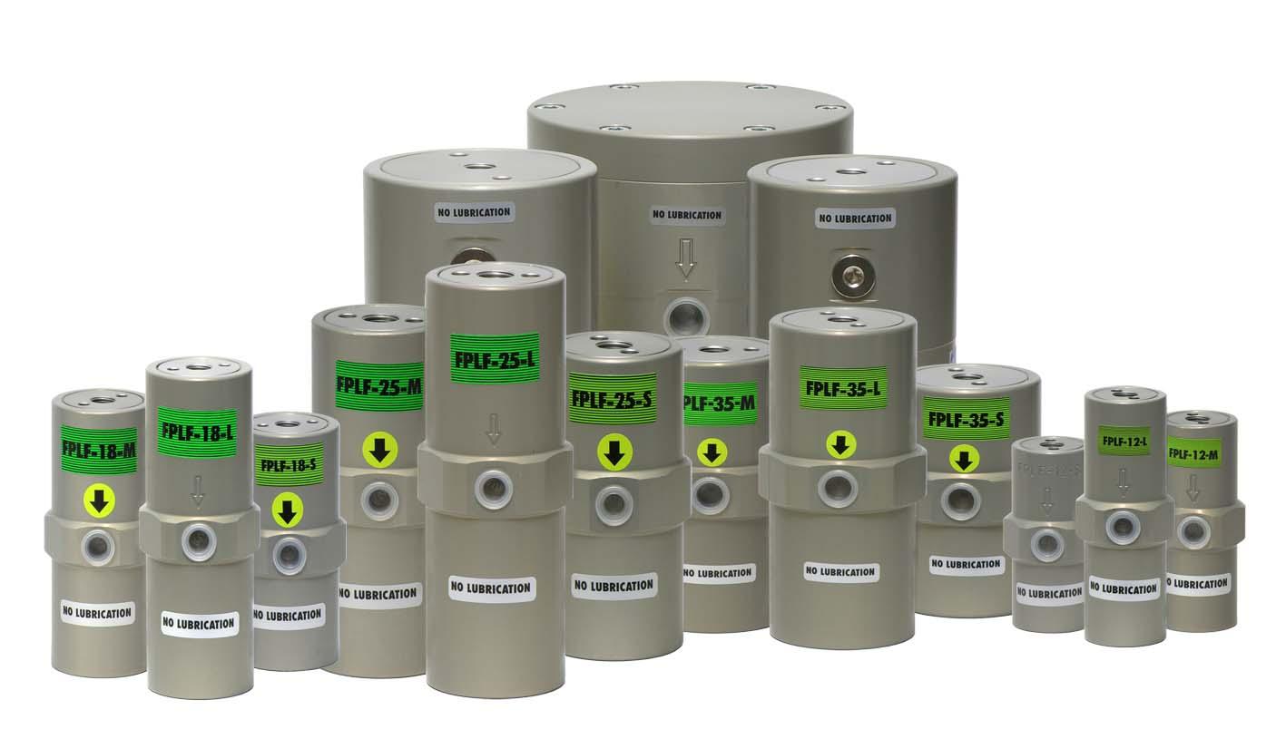 vibreur sans lubrification à piston interne FPLF
