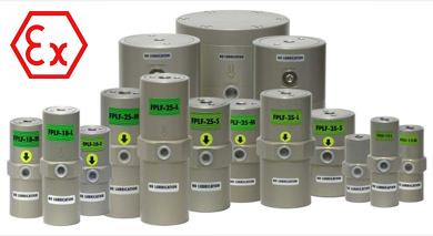 vibreur sans lubrification à piston interne atex FPLF EX