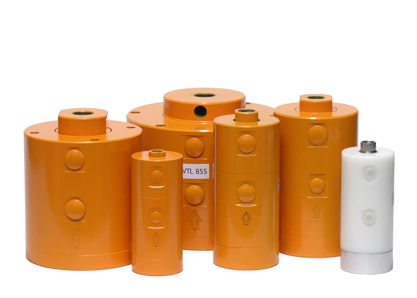 Vibrateur pneumatique à piston externe série VTL